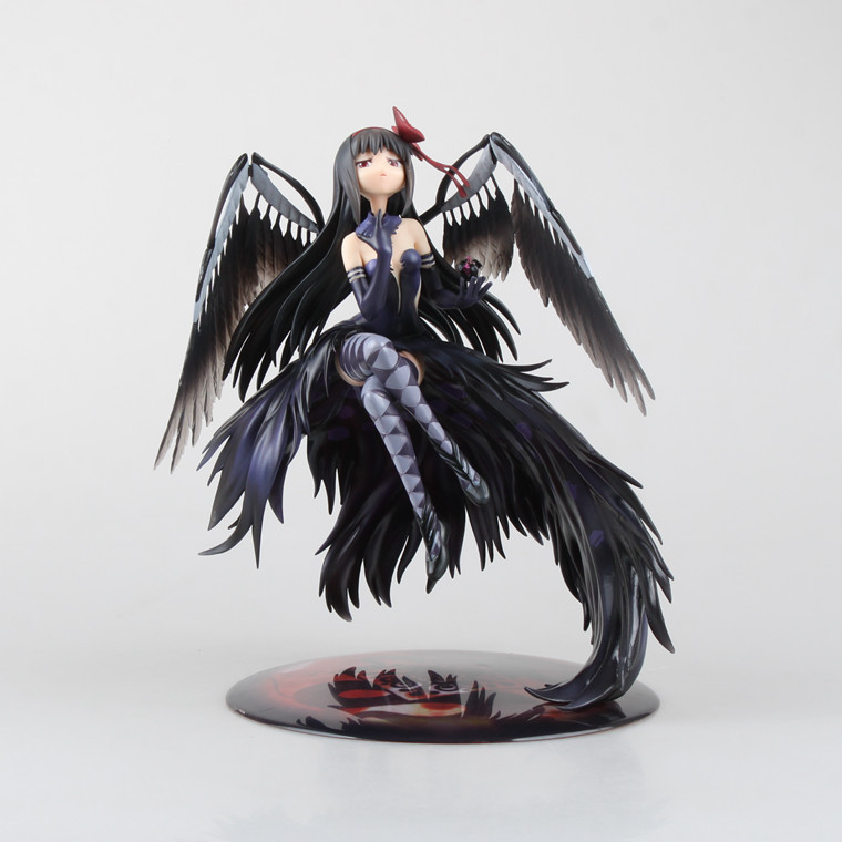 2016 1pcs 24CM pvc Japanese anime figure  Puella Magi Madoka Magica Akemi Homura action figure collectible model toys brinquedos 21cm puella magi madoka magica sexy anime action figure pvc collection model toys brinquedos for christmas gift free shipping