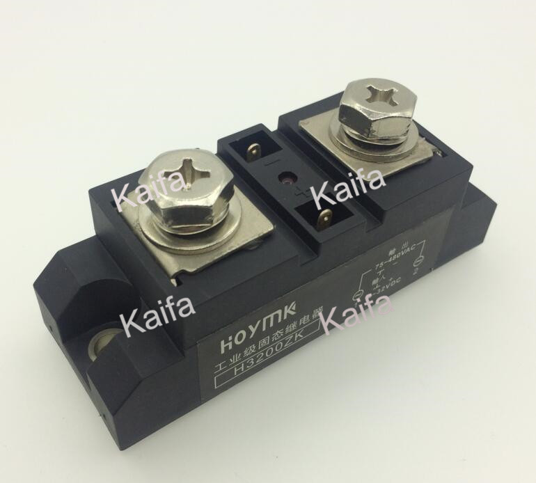 wholesale genuine Solid State Relay H3200ZK DC-AC 200A normally open single phase solid state relay ssr mgr 1 d48120 120a control dc ac 24 480v