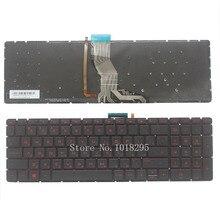 Новый RU клавиатура для HP 15-AB 15-ak 15-bc 15-ab000 15-ab100 15-ab200 15z-ab100 835664-001 Клавиатура ноутбука с Подсветка