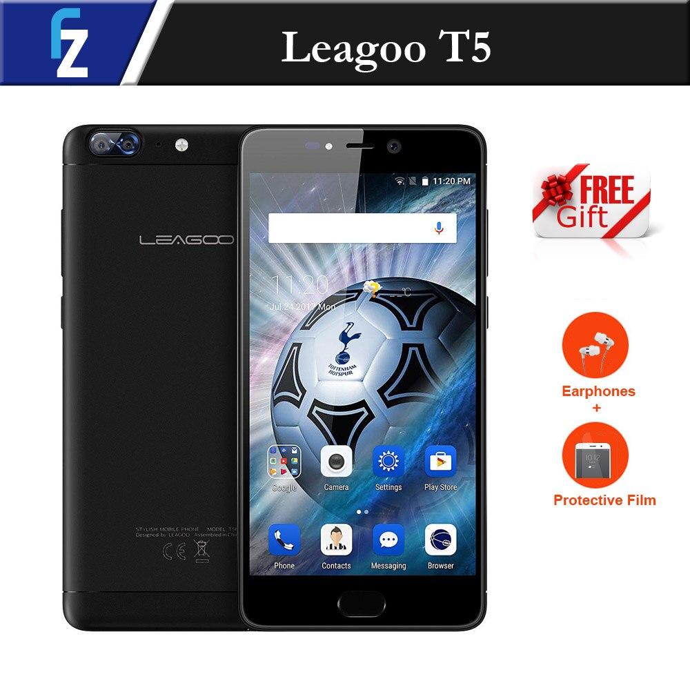 leagoo t5 smartphone android 7 0 5 5 fhd 4gb ram 64gb rom mtk6750t octa core 13mp dual cameras. Black Bedroom Furniture Sets. Home Design Ideas
