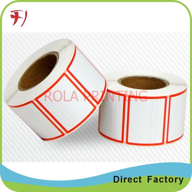 Customized custom logo printed promotion label sticker vinyl promotional sticker printing best price promotion