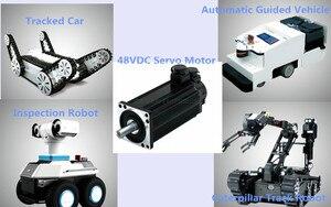 manufacturer close loop optical encoder feedback 24v 1kw bldc serve motor for intelligent crawler