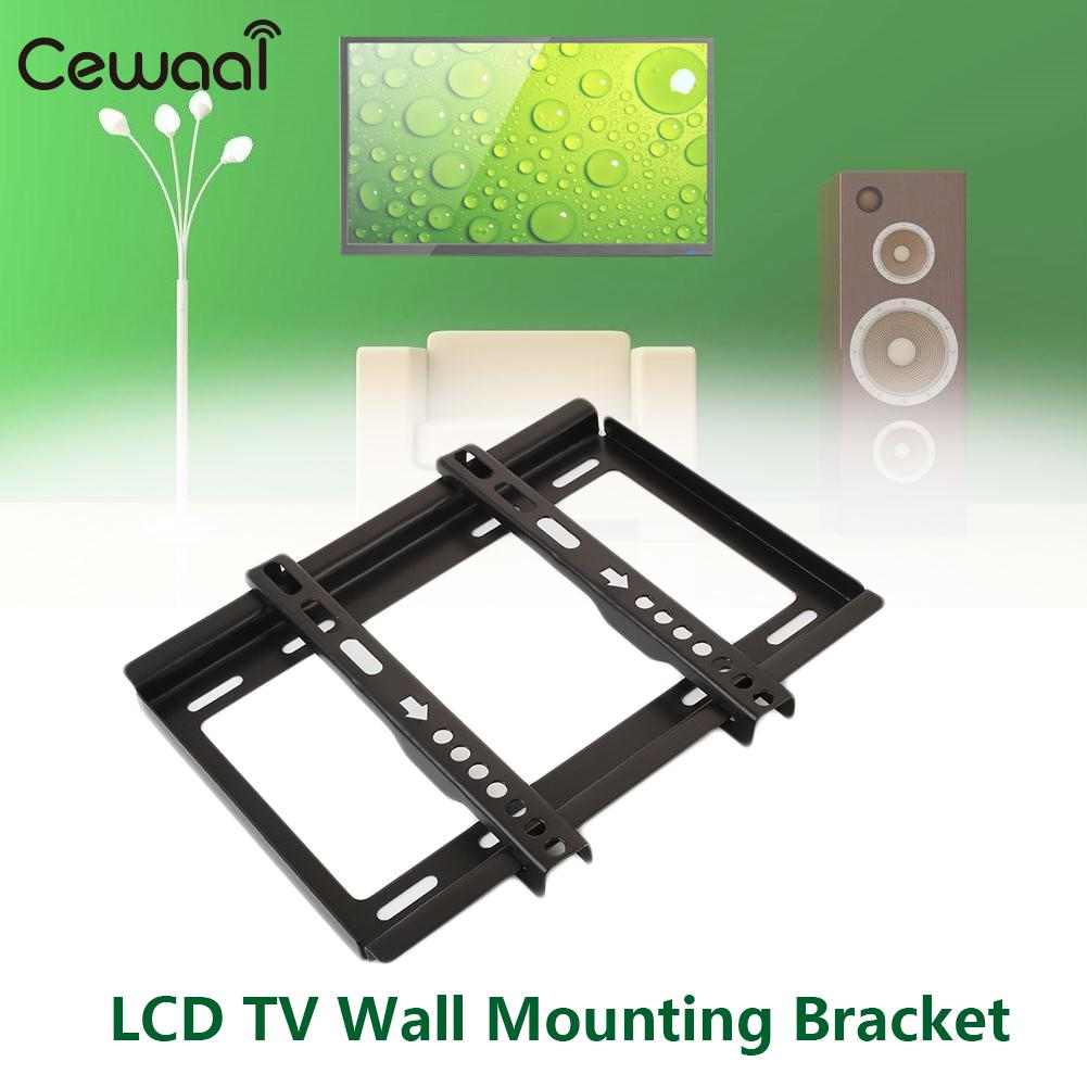 Universal 14 32 Inches Tv Wall Mount Holder Rack Lcd Flat Panel Practical