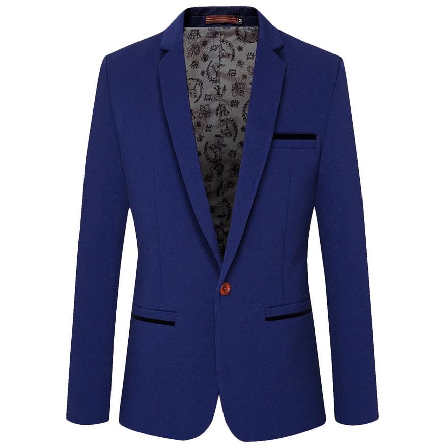 Popular Royal Blue Blazer Men-Buy Cheap Royal Blue Blazer Men lots