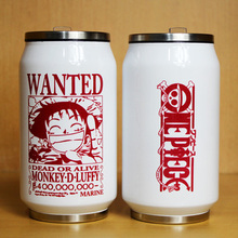 One piece luffy Ace Chopper Nami Zoro Stainless Steel Cup Mug