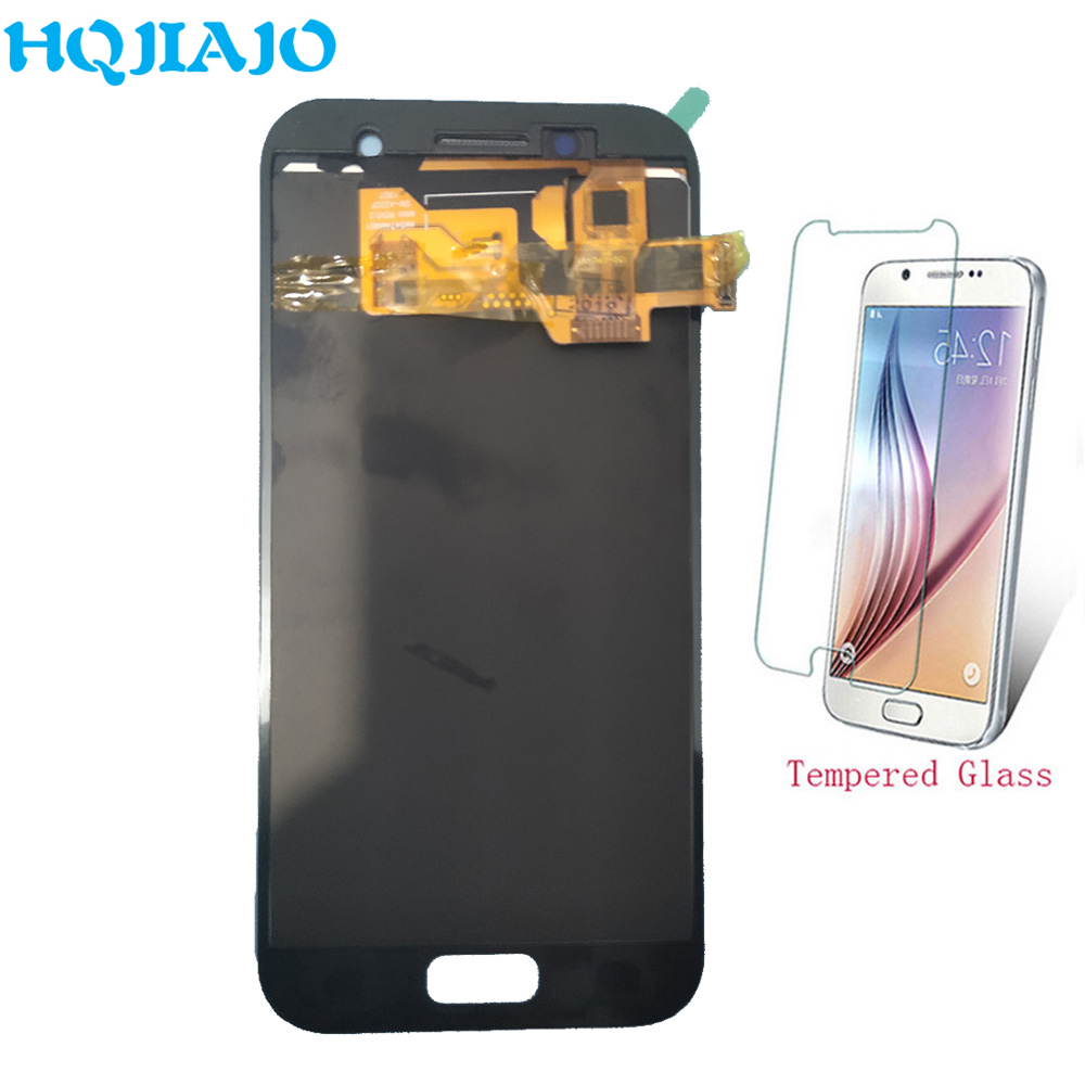 10Piece/lot TFT LCD Screen For Samsung <font><b>A320</b></font> LCD Display Touch Screen Digitizer For Samsung Galaxy A3 2017 A320F A320Y Assembly image
