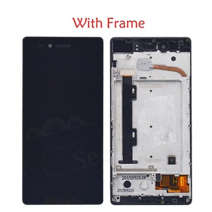 """Image 2 - For Lenovo VIBE SHOT Z90 Z90 7 LCD Display Touch Screen Digitizer Assembly With Frame For 5.0"""" Lenovo z90a40 Display Replacement"""