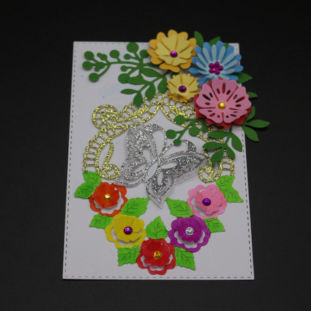 Metal Cutting Dies Stencil Scrapbooking Embossing Card Making Paper Craft DieRAS