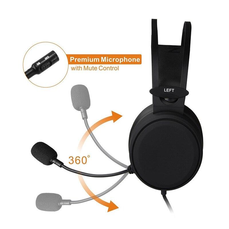 FELYBY N7 casque filaire casque Gaming casque musique caisson de basse haute qualité avec Microphone casque pour téléphone - 6