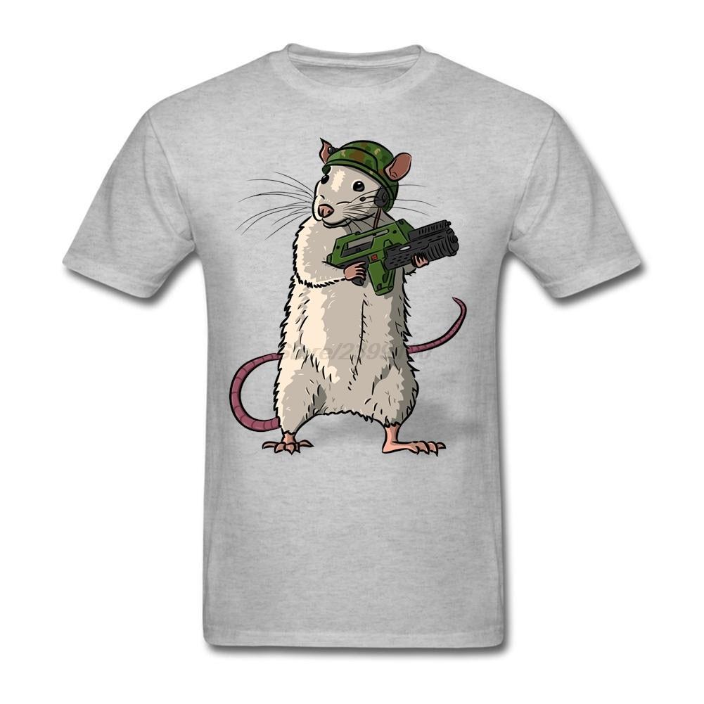 9da1c0c00b0 Leisure Funny Rat Marine Soldier Tees Shirt Men Man Short Sleeve Cotton  Custom 3XL Team T-shirts