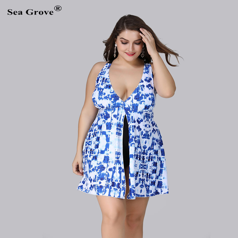 Large Size Swimsuit Women 2017 Sexy Swimwear Women One-Piece Suits Swimwear Plus Size 3XL/4XL/5XL Swim Suit Beachwear sexy plus size skirt swimwear women one piece suits swimsuit beachwear bathing suit swimwear dress 4xl to 8xl