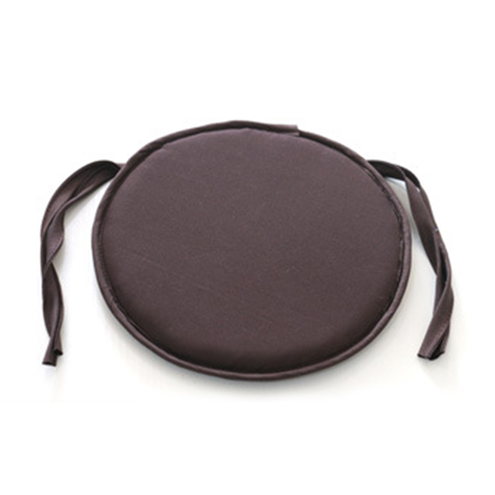 38cm X 38cm  Style Portable Indoor Dining Garden Patio Home Office Kitchen Round Chair Seat Pads Cushion With Four Ties