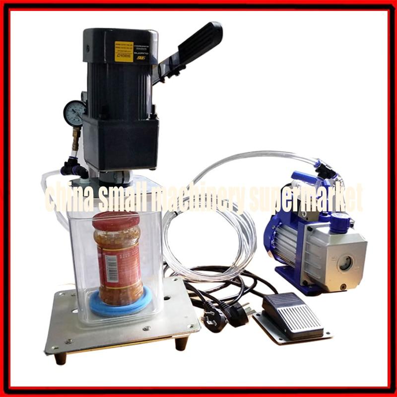 Semiautomatic Electric Pneumatic Vacuum Bottles Capping Machine Capper Sealing Rotating Machine Bottle Cap Twisting Twister Vacuum Food Sealers Aliexpress