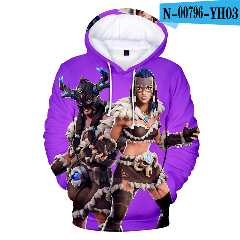3D Print Hoodie Print Moletons 3D Print Game Clothes Battle Royale Popular Clothing Women Clothing Popular Clothes Funny Cartoon