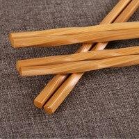 10 Pairs Handmade Tableware Chopsticks Tool Pack Japanese Chopsticks Natural Sticks Style Bamboo Set Gifts