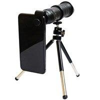 18-30X Ayarlanabilir zoom objektifi Kiti Cep Telefonu Lens Geniş Açı Lens Akıllı telefon için Tripod ile Yüksek Kalite