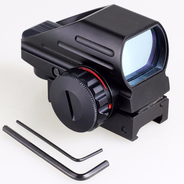 Hunting Reflex Sight Red/Green Dot 4 Reticle Holographic Projected Sights Riflescope For Airgun 20mm Rail Mount