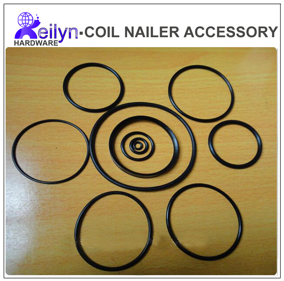 CN55 CN70 CN80  11 pcs O-ring repair kit  Plastic O-Ring set for nail gun spare Parts  for air nailer Accessory for Air gun free shipping reilyn piston cn55p accessory for nail gun parts for coil nailer cn55 for max bostitch senco stanley