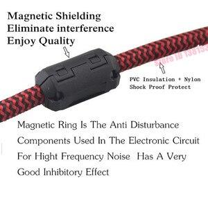 Image 5 - Стерео аудио кабель со штекером 1/4 дюйма и разъемом 6,35 мм на 2 штекера XLR для микрофона, миксера, консолей, усилителя, Y разветвитель, адаптер 1 м, 2 м, 3 м, 5 м
