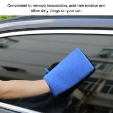 Carro automático lavagem de argila luva de descontaminação superfície toalha barra para carro detalhando luvas de lavagem de carro novo portátil