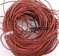 Coffee 100M *3mm Real Round Cord For Bracelet Beading /Thread/ Beads/Make Necklace Leather Cord DIY Jewelry Findings Z2903