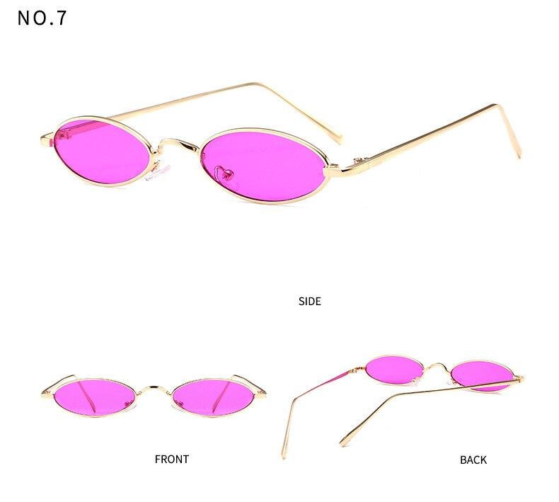 67e43b74b1 FU E 2018 Nouveau Concepteur de Marque Petit Visage Vintage Ovale lunettes  de Soleil Femmes/Hommes Rétro Objectif Clair Lunettes Lunettes de Soleil  pour ...