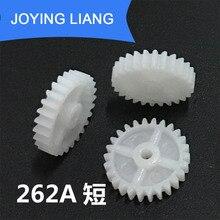 Toy-Accessories Gear-Disc Plastic Teeth-Hole Modulus DIY 2mm Model Tight Short 262A