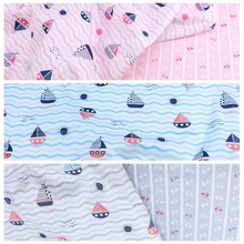 baby Cotton twill fabric for DIY bedding cloth Sewing patchwork quilting and fashion dress making fabrics
