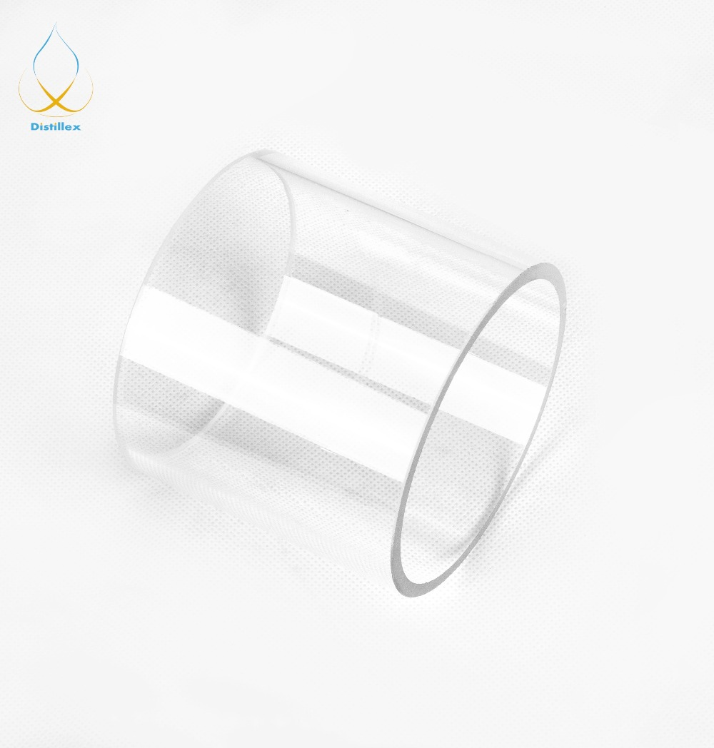 Borosilicate Glass 110mm X 5mm X100mm. Column For Distillation.