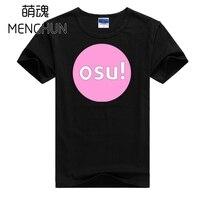 Bella new progettato Ritmo di Musica Gioco Osu! t shirt Osu gioco fans regalo di estate tee shirts ac708