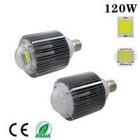 120W COB E40 led high bay industrial light e40 led warehouse light AC85 265V DHL free shipping