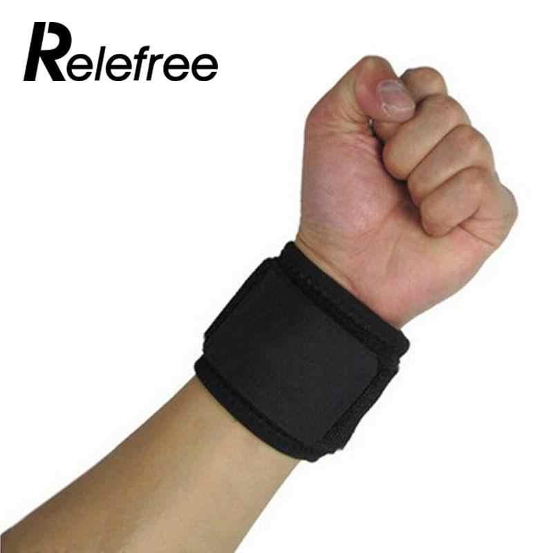 Манжет для поддержки запястья руки спортивные тренировочных упражнений повязка на руку ремень тренажерный зал Бинт Эластичный Напульсники повязка против артрита Кистевой туннельный