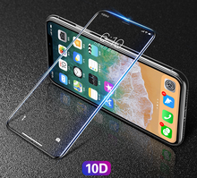 New 0.26mm Full Screen 10D Curved surface Tempered Glass Film For Iphone X XS XS Max XR Glass Screen Protector Gorilla Saver