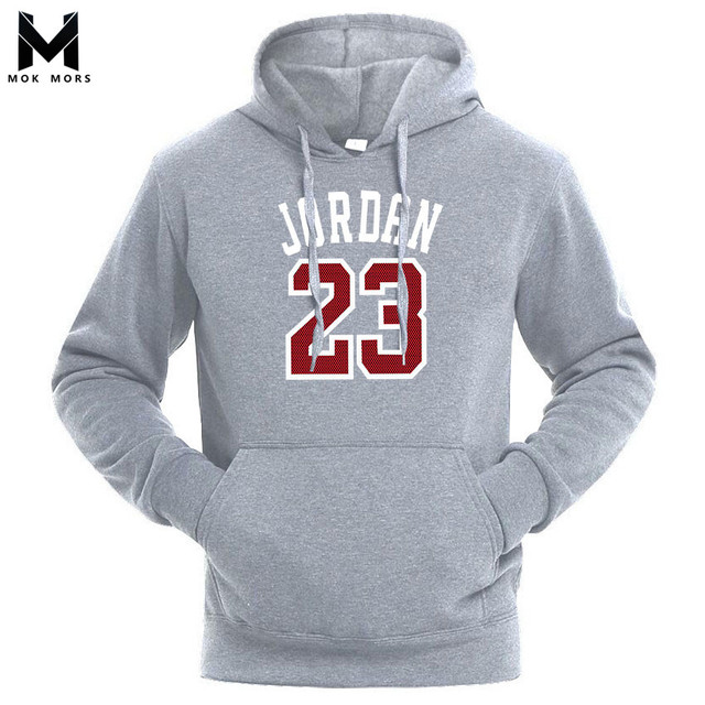 f46ac07eba US $15.99  Men's New Business Casual Wild 23 Printing Hooded Mens Hoodies  Fashion Brand Cotton Thread Cuff Long Sleeve Men Hoodie-in Hoodies & ...