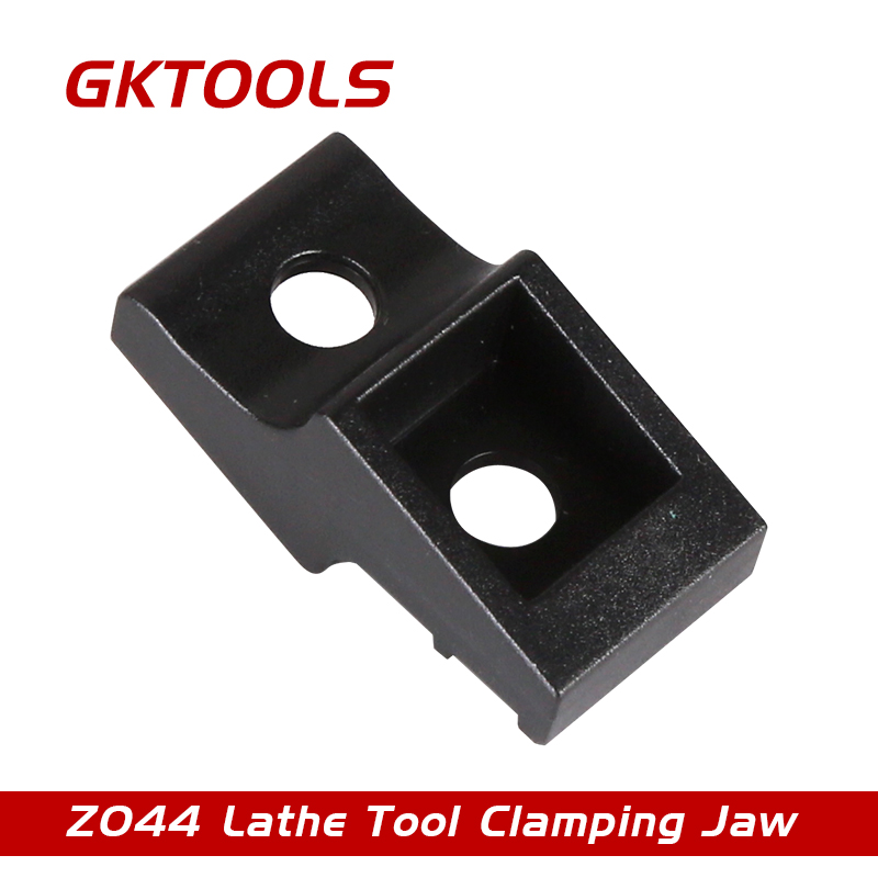GKTOOLS, 4 pieces/lot Lathe Tool Clamping Jaw, lathe tool holder, Z044 zcc ct toolbar crdnn2020k12 c type clamping tool holders external grooving turning lathe bar tool holder for lathe machine