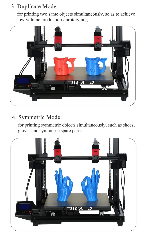 Vivedino T-Rex 3+ IDEX Industrial3D Printer