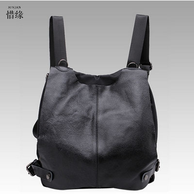 XI YUAN Fashion Designer Cow Genuine Leather Women Backpack Drawstring School Bags For Teenagers Girls Female Travel Back Pack evispo fashion designer cow genuine leather women backpack drawstring school bags for teenagers girls female travel back pack