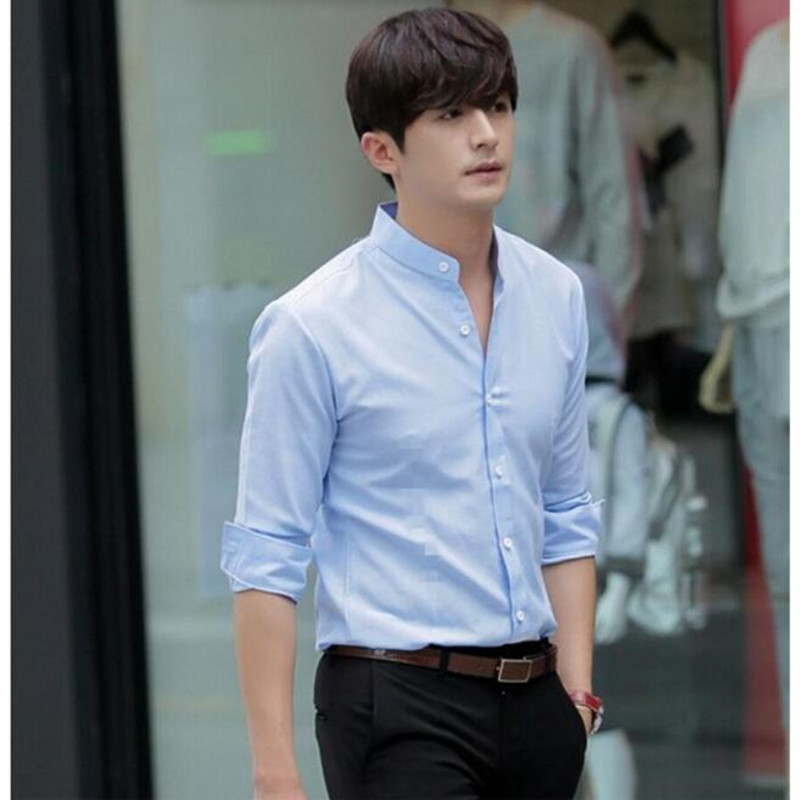 Buy autumn and winter the chinese collar Buy white dress shirt