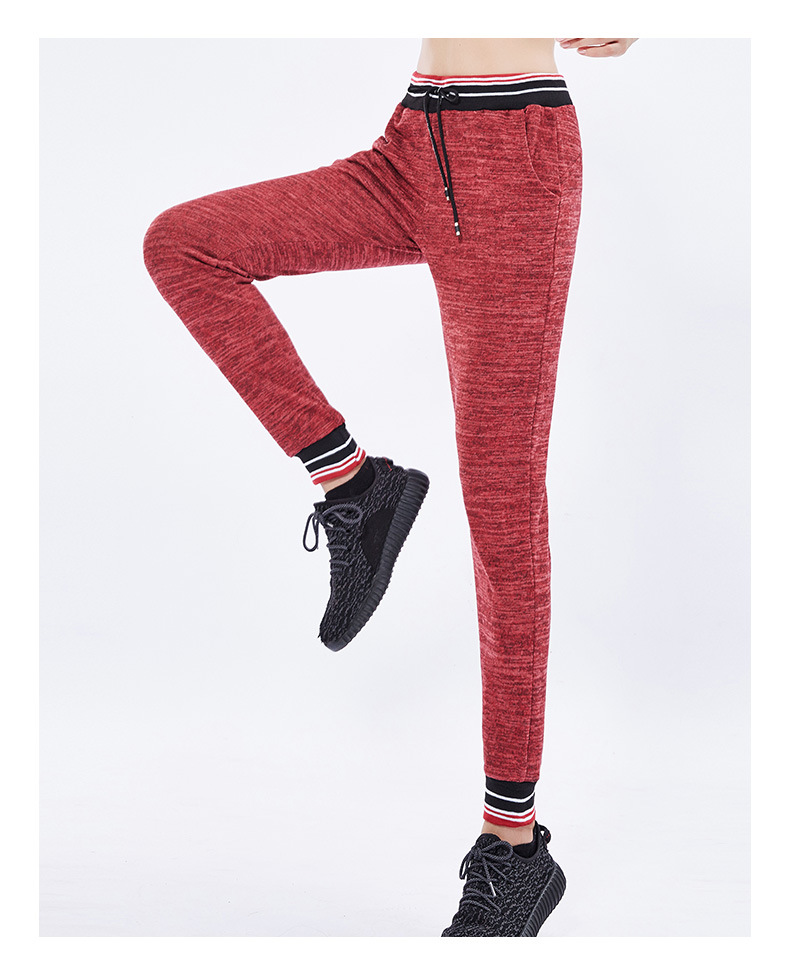 2019 New Women's Sweatpants Loose Breathable Casual Slim Yoga Fitness Running Pants