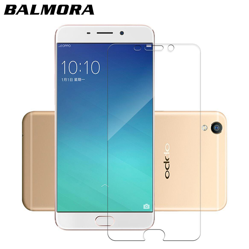 BALMORA Thin Clear Tempered Glass for Oppo R9 R9S R11 R11S plus Mobile Phone Screen Protector For Oppo R7 R7S plus Film Cover