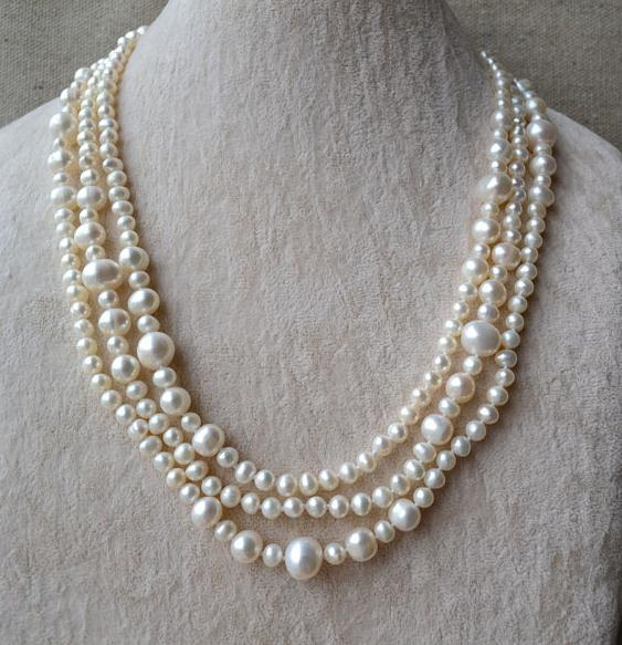 Perfect Long Pearl Necklace,60 inches 5-11mm White Color Freshwater Pearl Necklace,Women Jewelry,Handmade Pearl Necklace все цены