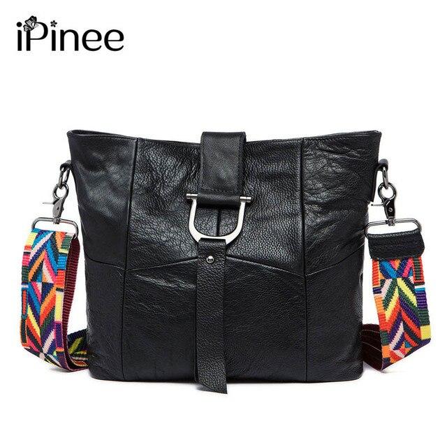 12f9472ee206 Новинка теплые кожаные сумки модные натуральная кожа Креста тела сумки  Брендовые женские сумки через плечо