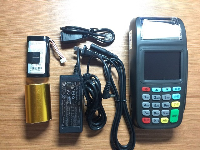 2.8inch Screen Mobile POS Payment Terminal CDMA Version(800 MHz) with 2inch  Intergrated printer