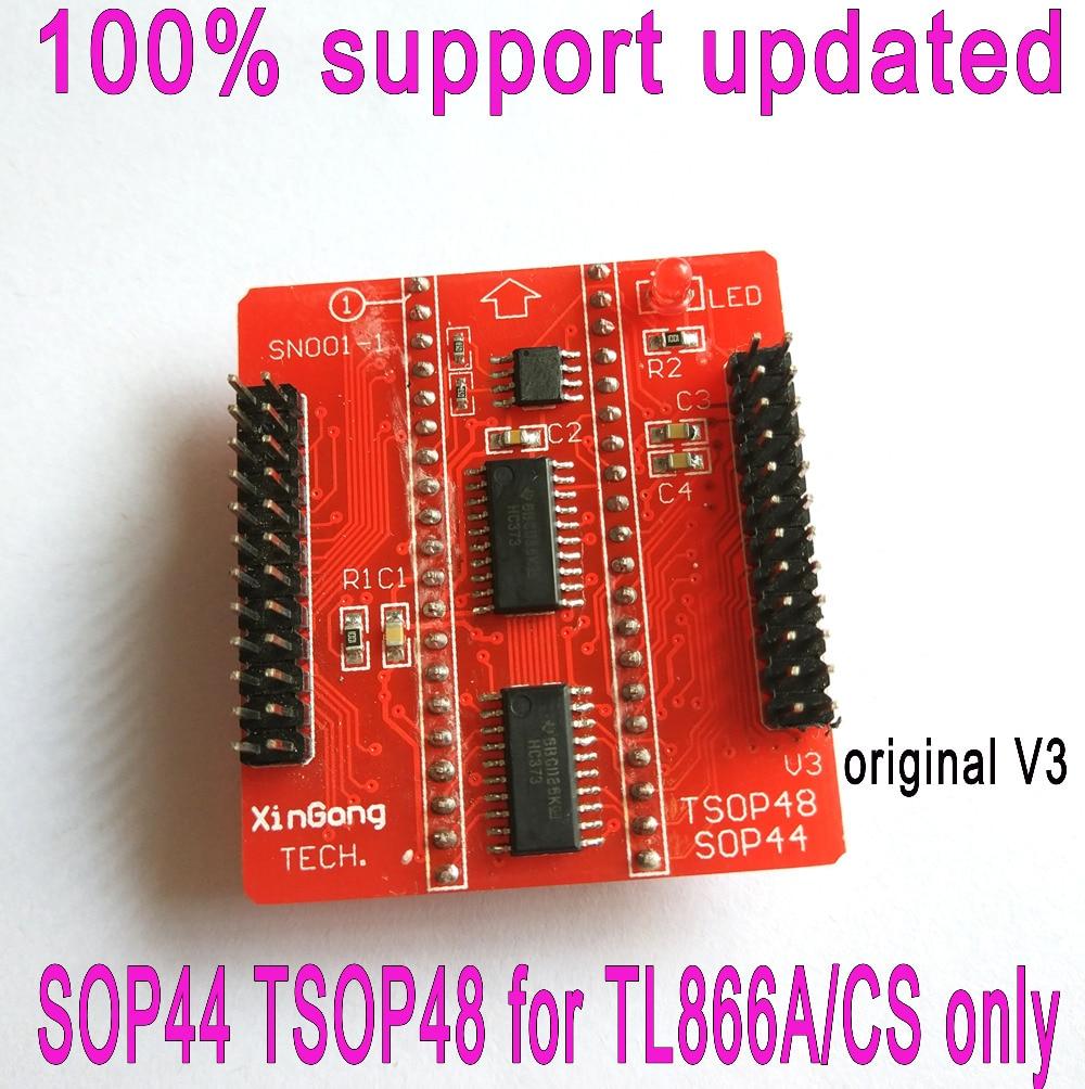 Original Adapters SOP44 TSOP48 ZIF adapter kit only for MiniPro tl866ii plus programmer Universal Programmer V3 Base adapterOriginal Adapters SOP44 TSOP48 ZIF adapter kit only for MiniPro tl866ii plus programmer Universal Programmer V3 Base adapter