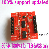 BGA 137 Flip Turn TSOP48 Probe Test Socket BGA137 To Tsop48 Adapter Socket Programmer 0 8mm