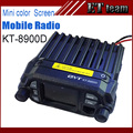 New mini Car CB radio QYT KT-8900D 25W Vehicle Mounted Two Way Radio Mini Mobile Radio with Quad Band Large LCD Screen KT8900D