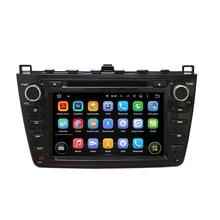 Audio Del Coche Para Android se aplican para MAZDA 6 (2008-2012) coches reproductor de dvd del coche dispositivo multimedia coche estéreo