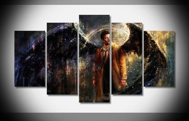 8115 supernatural TV pranting Misha Collins cartel enmarcado galería ...