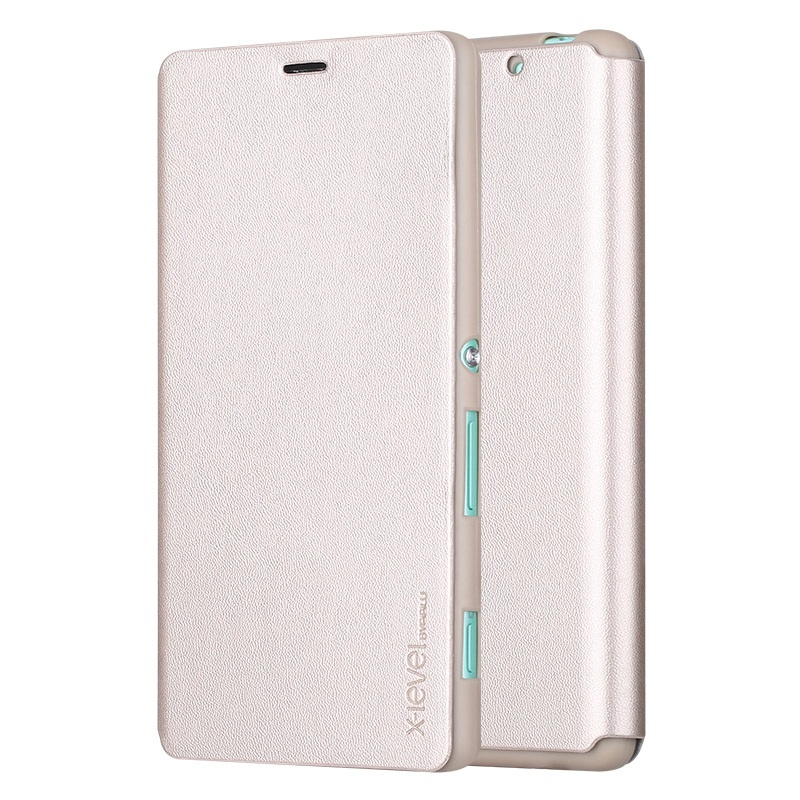 X LEVEL for Sony Xperia C4 E5303 E5306 E5353 Case Slim Folio Leather Phone Bag Case