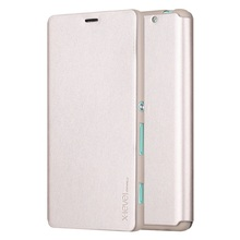 X-LEVEL for Sony Xperia C4 E5303 E5306 E5353  Case Slim Folio Leather Phone Bag Case with Stand for Sony Xperia C 4 / C4 Dual